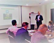 Alberto Romero Cagigal durante su presentación