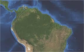 Mapa Brasil. Foto. Yale.