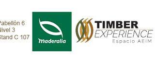 Timber experience logos fimma y maderalia y aeim sin texto en grande