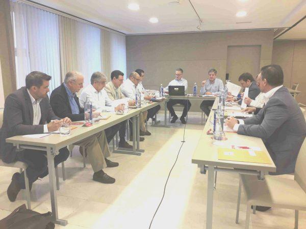 Reunión de Jta. Directiva de Aeim. 15 de junio, 2018.