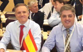 Carles Alberch y Alberto Romero en la ISC 2018