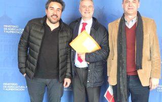Oskar Azcárate (Baskegur), Alberto Romero Cagigal (AEIM) y Alberto Palmí (FEDEMCO)