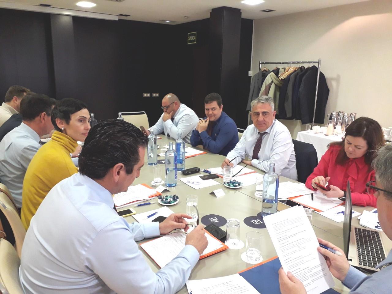 Reunion de Junta directiva. 7, marzo, 2019