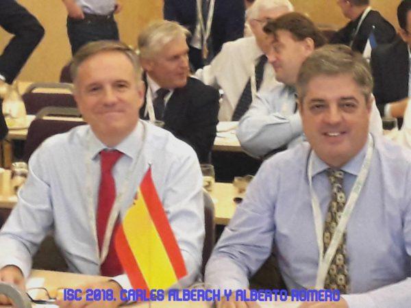 Carles Alberch y Alberto Romero en la ISC 2018. Revisado