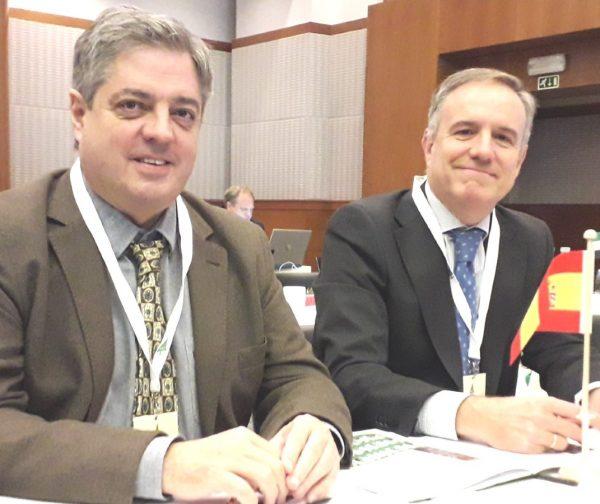 Carles Alberch y Alberto Romero en la ISC 2019. Pequeña