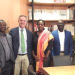 Delegación de Ghana. Alberto Romero Cagigal