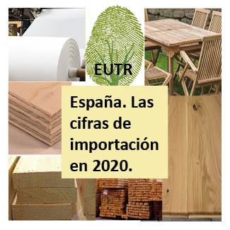 Imagen. EUTR. 2020 Las cifras en España.