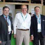Carles Alberch, Charles Trevor y Alberto Romero. Carrefour Nantes.