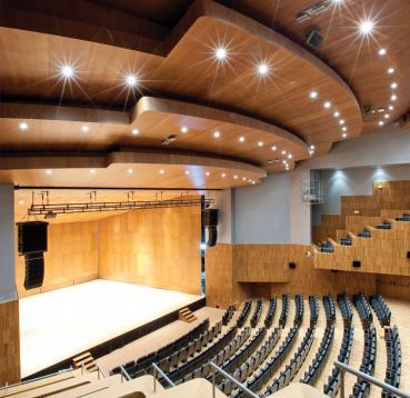 Roble Blanco. Palacio de Congresos de Huesca. Foto AHEC.